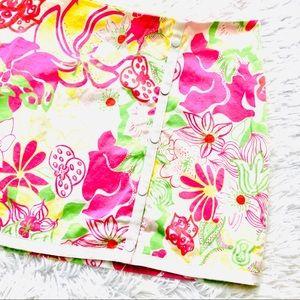 TIBI • Women's Tropical Floral Skirt • Size 4
